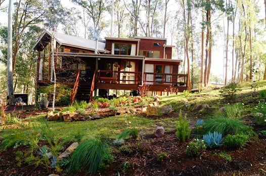 MannaGum Lodge in winter - Luxury chalet in Australian high-country forest - Mt Buller - rentals