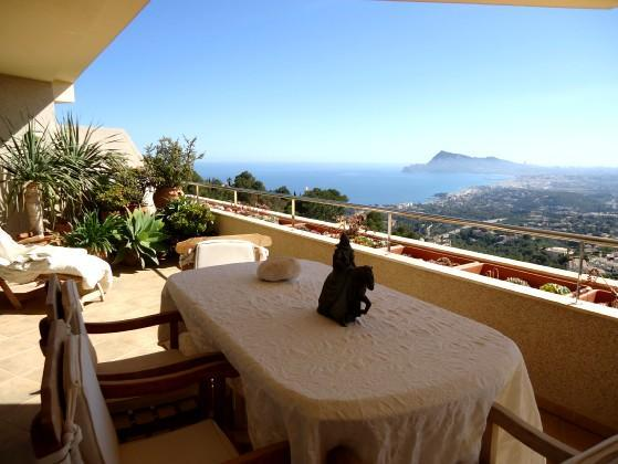 Costa Blanca, Altea, La Vella, pool, golf, sea, beach, dishwasher dutch, satellite, TV, luxury, - Altea (La Vella) lux apartment 4 persons, sea view - Altea la Vella - rentals