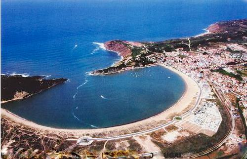 Bird's Eye View of the Sao Martinho Bay - 1 Bedroom Apartment with Sea and Land Vie - Sao Martinho do Porto - rentals