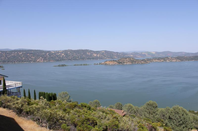 view from deck - Lake view vacation house, Lake county, California - Kelseyville - rentals