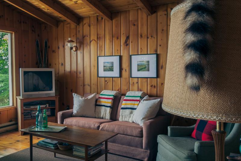Lounge Area with TV, DVD, and Xbox game system. - Waterfront Cottage Rental: Buckhorn, Ontario - Buckhorn - rentals