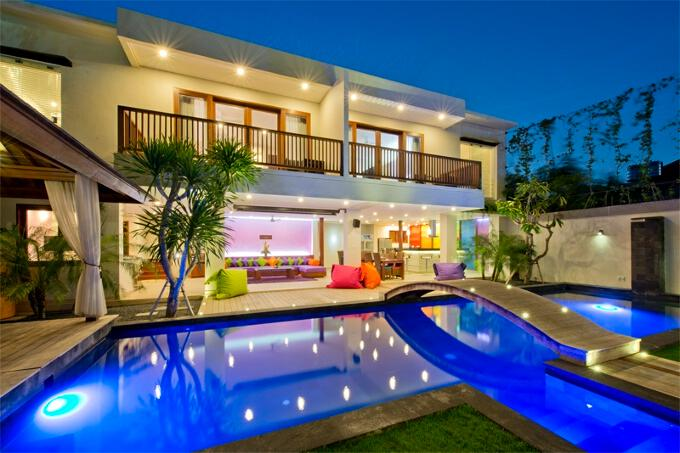Villa True Colors, 6BR, Seminyak - Image 1 - Kuta - rentals