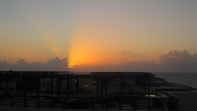 Fabulous sunrise over the Caribean Ocean - 4 Bedroom Penthouse 1/2 block to Mamitas Beach and 5th ave! - Playa del Carmen - rentals