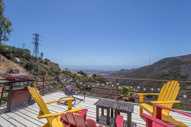 patio - Ocean View Condo in Heart of Malibu - Malibu - rentals