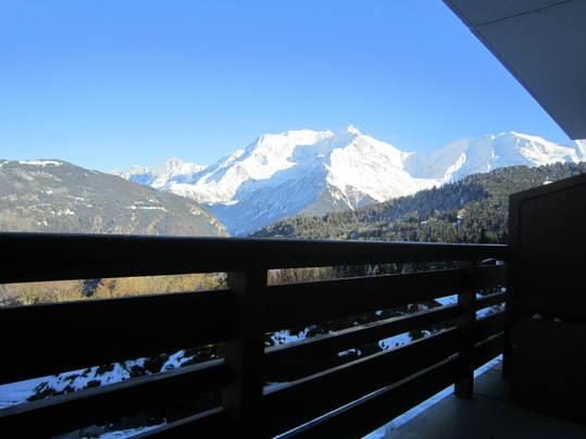 View from Balcony - Onyx11-Breathtaking Views, Fireplace face Mt-Blanc - Saint Gervais les Bains - rentals