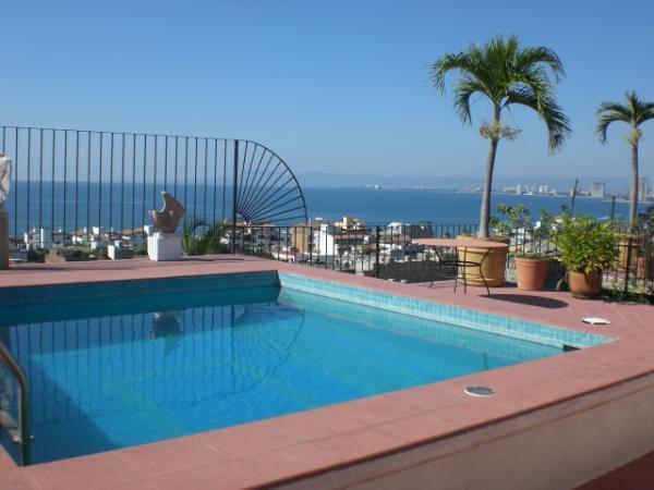 Casa Alexandra Pool - Charming Villa Casa Alexandra in Puerto Vallarta - Puerto Vallarta - rentals