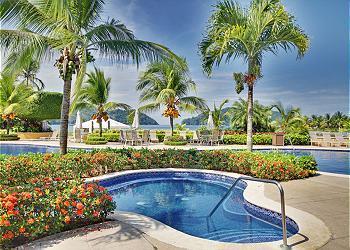 Pool area. - Wildfire Condominium, Del Mar 2O - Herradura - rentals