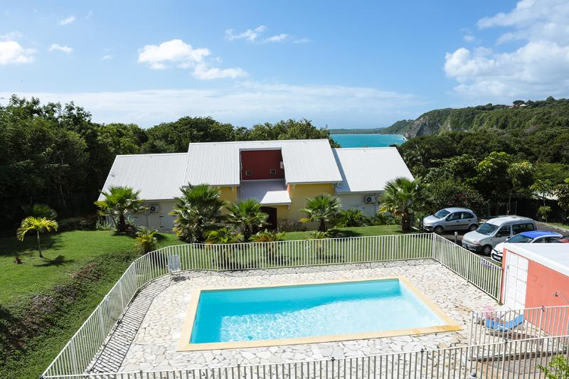 lovely duplex with pool to 3 minutes to walk to beaches - Image 1 - Le Gosier - rentals