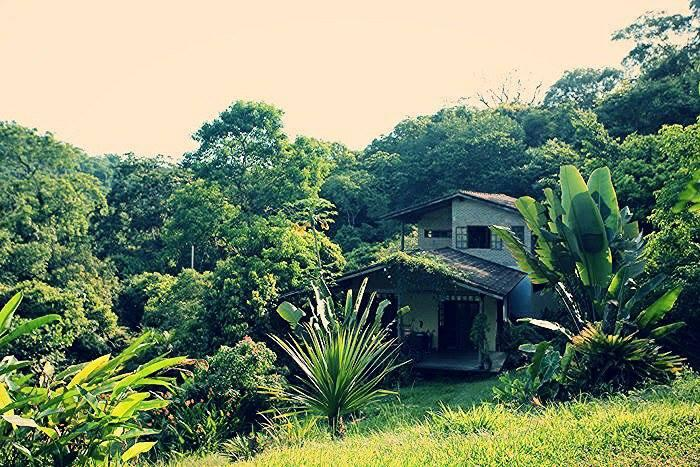 View from the gate - Paradisiacal Country House with Private Riverside - Paraty - rentals