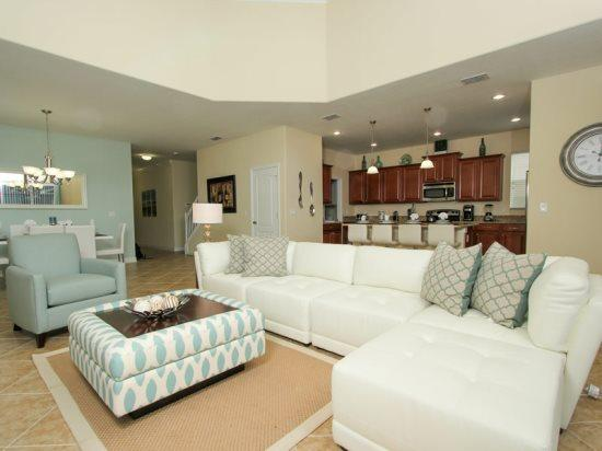 Stunning 5 Bedroom 5 Bath Home In Paradise Palms Resort. 8925SP - Image 1 - Orlando - rentals