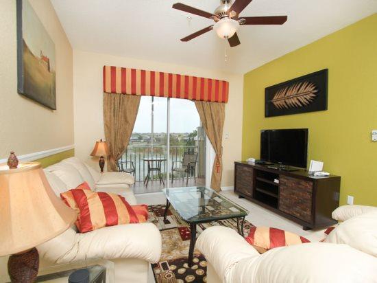 Elegant 3 Bedroom 2 Bathroom Condo for Disney Retreat. 7664CS-303 - Image 1 - Orlando - rentals