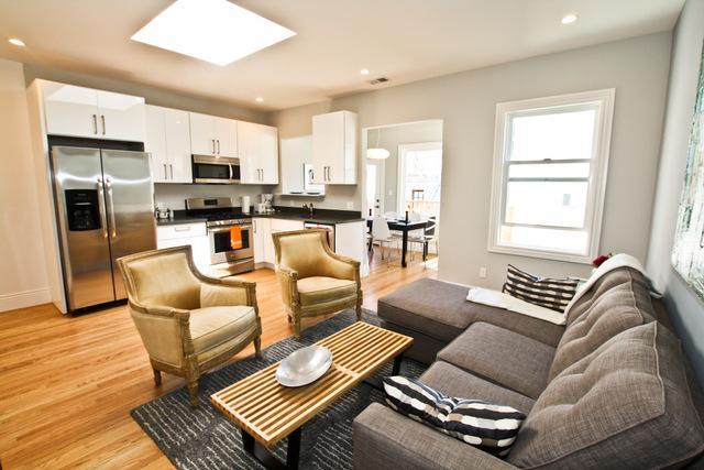 Living room - Modern SOMA District - San Francisco - rentals