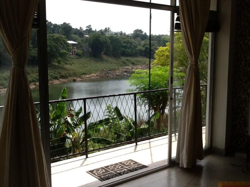 View from Lounge Area - Water Front Studio Apartment / Bedsitter - Kandy - rentals