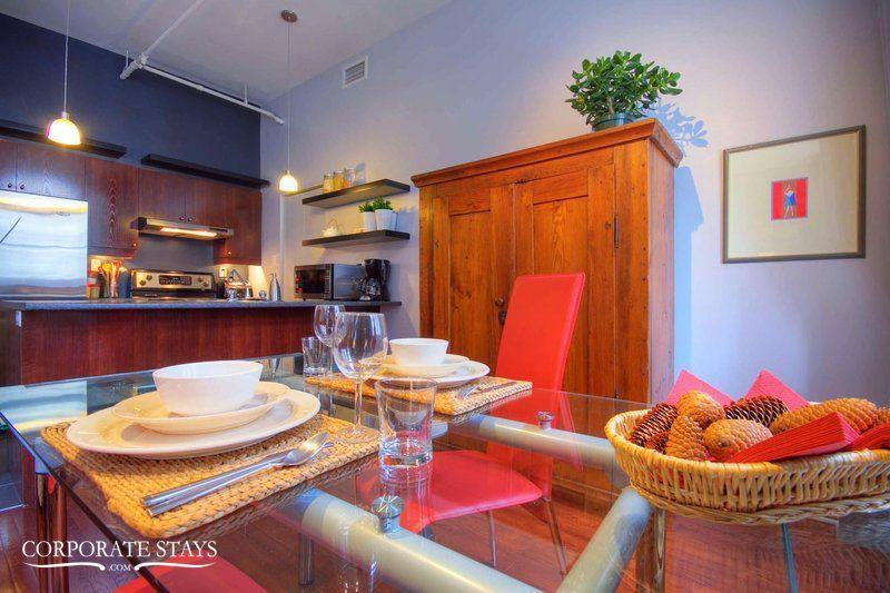 1BDR Corporate Apt Downtown Montreal, Fully Equipped, Furnished - Image 1 - Montreal - rentals
