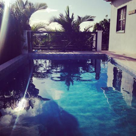 Guest picture of pool - Calamansi, 3 bedrooms, views, pool, WiFi, AC - Charlestown - rentals