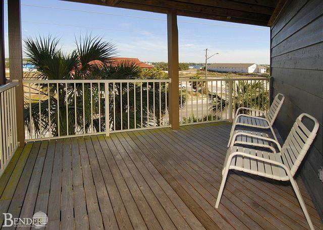 Balcony - Sandpiper 1C - Gulf Shores - rentals