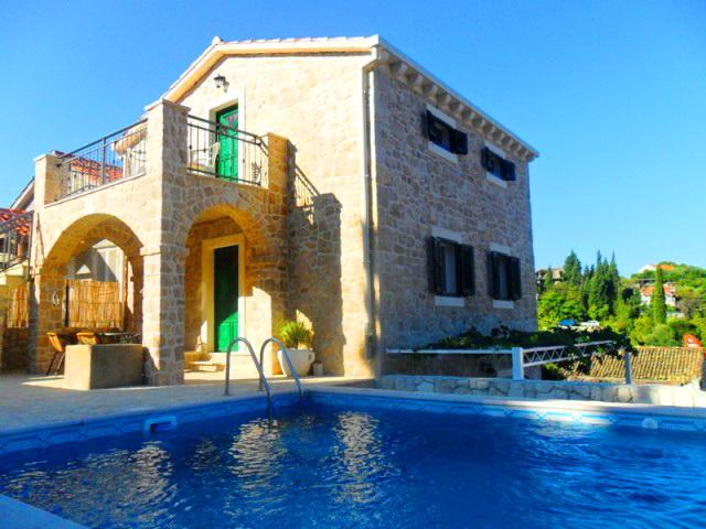 Two stone villas with pool, Klek - Image 1 - Klek - rentals