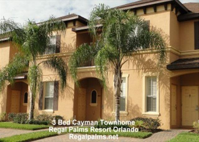 3 Bed Town Home Villa At Regal Palms Resort Orlando Florida (PE1032CL) - Image 1 - Davenport - rentals