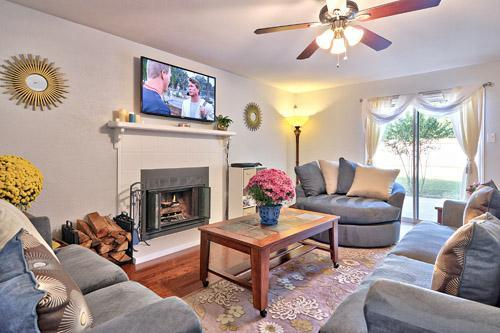 Living Room - A WONDERFUL PLACE TO BE: SO AUS 3BR 3BA PRIV YARD - Austin - rentals