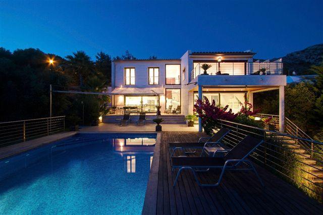Villa by night - Exclusive, High-spec Villa with Spectacular Views - Alcudia - rentals