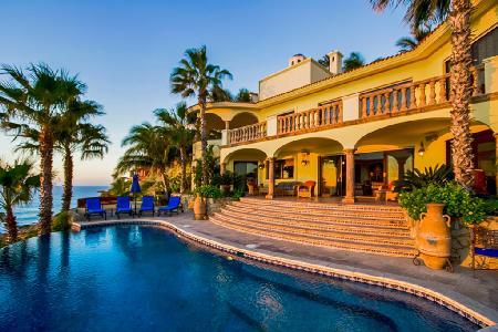 Oceanfront Casa Taz with lovely Sea views from every room & private beach access - Image 1 - Cabo San Lucas - rentals