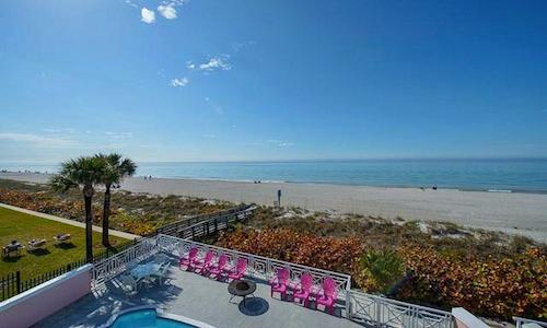 Luxury Beachfront Oasis - 4 Bdrs - Private Pool - Image 1 - Clearwater Beach - rentals