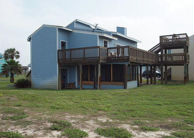 3 bedroom home in Tropical Lost Colony Villas!  Beach Access!! - Image 1 - Port Aransas - rentals