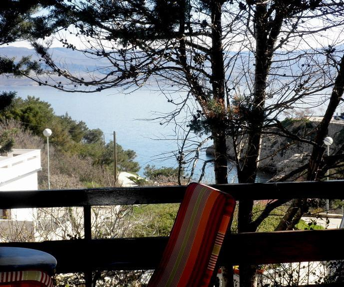 view from terrase - Apartments Lefler - Vrbnik - rentals