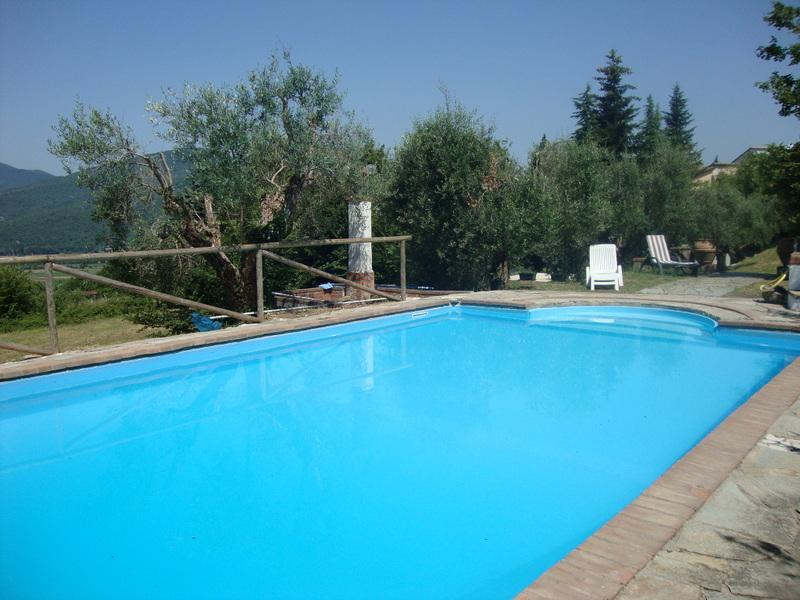 pool - Lovely Villa with pool on Tuscan/Umbrian border - Mercatale di Cortona - rentals