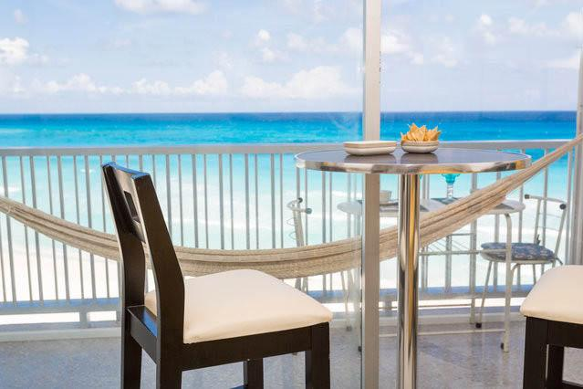 terrace - Caribbean View Appartment - Cancun - rentals