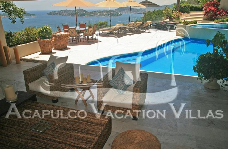 ACA - LIN05 - Cozy villa with close-up views of the bay and sailboats, fantastic sunsets and great villa staff. - Image 1 - Acapulco - rentals