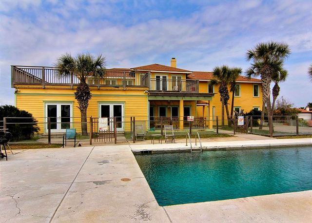 Welcome to Summer Place - 5500 square foot beach house situated on 1.86 acres overlooking the Gulf! - Port Aransas - rentals