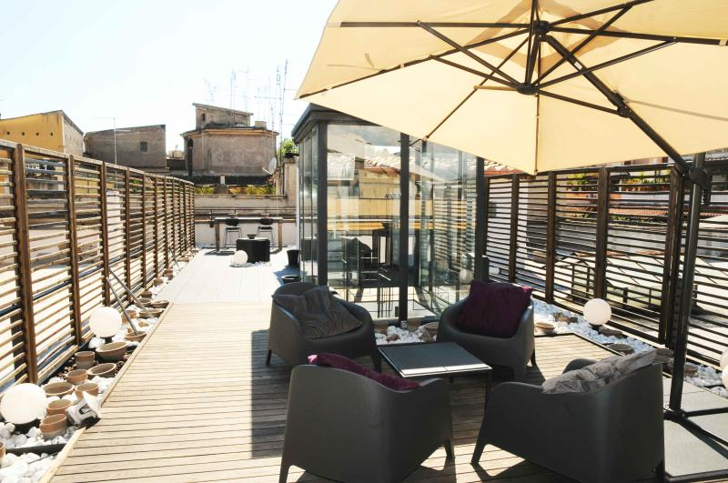 Terrace overview - Trastevere Ripa Roof Terrace Apartment - Rome - rentals