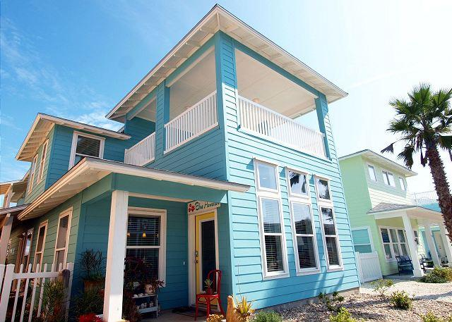 Brand new 4 bedroom 4.5 bath home in gated Village Walk! - Image 1 - Port Aransas - rentals