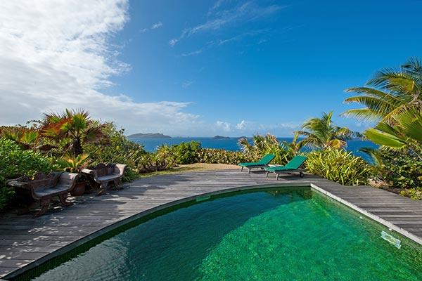 Perfect honeymoon villa in a desirable area of Pointe Milou WV ATA - Image 1 - Pointe Milou - rentals