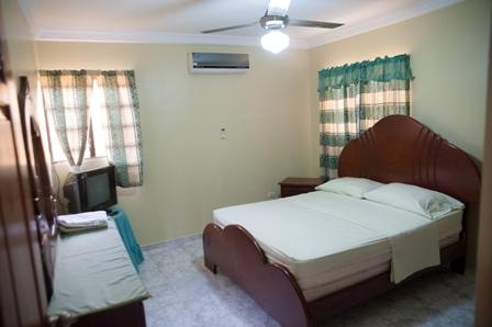 Free Wi-fi, One Queen sized bed, 2 singles dresser, mirror  and air conditioning - 2-Bedroom Apartment  Sleeps 8 - Santo Domingo - rentals