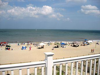 Beautiful ocean views from the master bedroom - The Enchanted Cottage 116257 - Bethany Beach - rentals