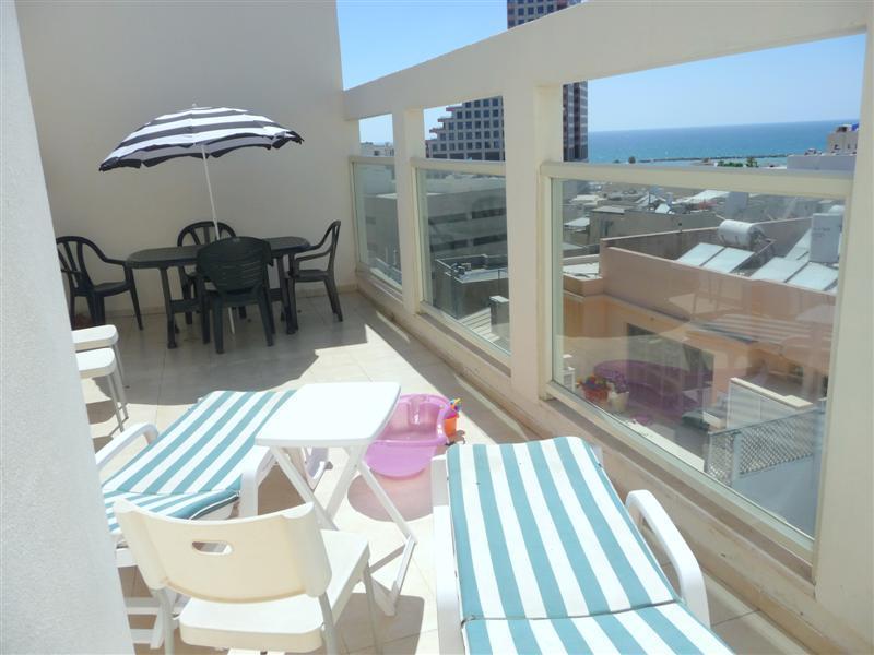 Duplex mini -penthouse with sea view - Image 1 - Tel Aviv - rentals