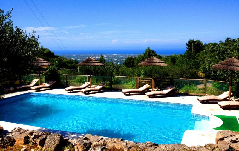 breathtaking untouched panoramic views, from every terrace and every window - Villa Silvana, a stunning large country residence - Fasano - rentals