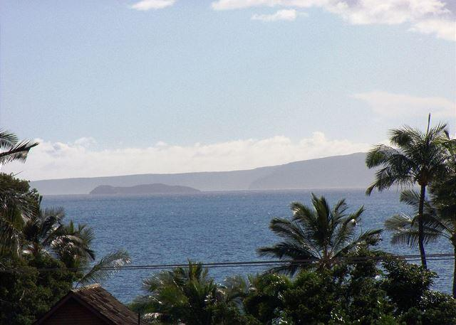 Ocean view from Maui Vista 1418 - 2B/2Ba Ocean View Unit, Perfectly Situated 100 Yards from Kamaole Beach I - Kihei - rentals