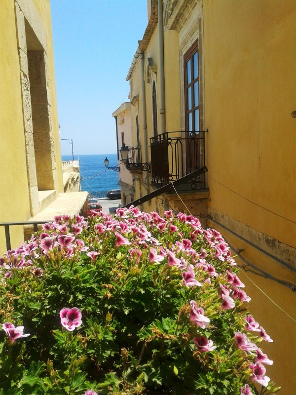 view from the balcony - Euriale- La Gorgone Ortigia Apartments - Syracuse - rentals