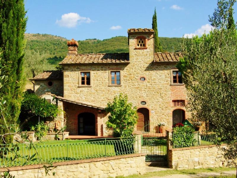 Façade - Charming independent country house in Tuscany - Arezzo - rentals