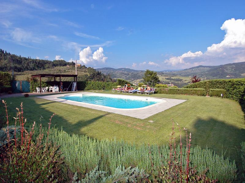 Private Swimming Pool with great views all around - VILLA  PRIVATE POOL+GREAT VIEWS+AIR CONDITIONING - Florence - rentals