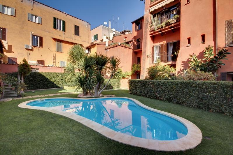 Pool - Pillowapartments Trastevere Apartment with Pool - Rome - rentals
