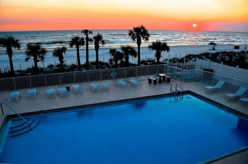 pool on beach - Panama City Beach Condo At Gulf Highlands Resort - Panama City Beach - rentals