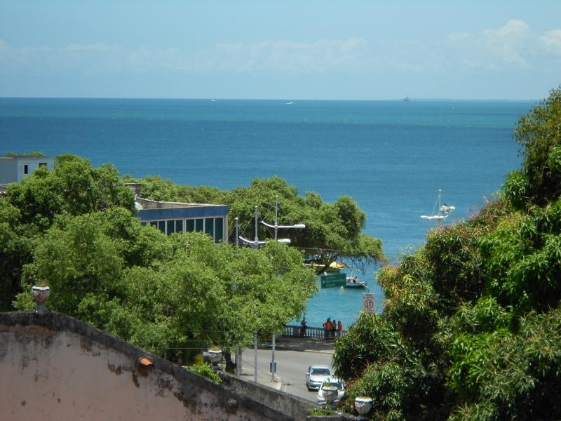 View from the window - Porto da Barra Beach Apartment - Salvador - rentals