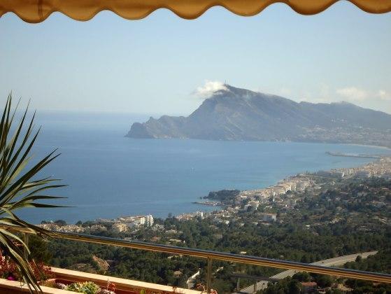 Costa Blanca, Altea, La Vella, pool, golf, sea, beach, dishwasher dutch, satellite, TV, luxury - Altea (La Vella) lux apartment 4 persons, sea view - Altea la Vella - rentals