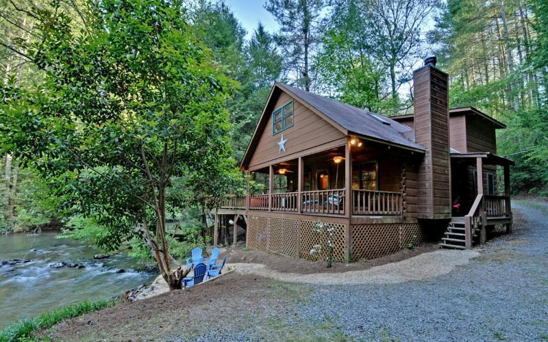 Waters Edge on the Ellijay River - Pet-friendly cabins in North Georgia - Ellijay - rentals