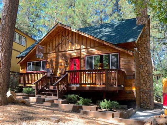 Forest Chalet - Forest Chalet: Spa, Foosball and more in Snow Summit/Village Area - Big Bear Lake - rentals