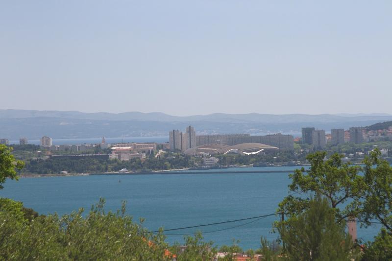 Amazing Adriatic Sea View Apartment across Split - Image 1 - Kastel Sucurac - rentals